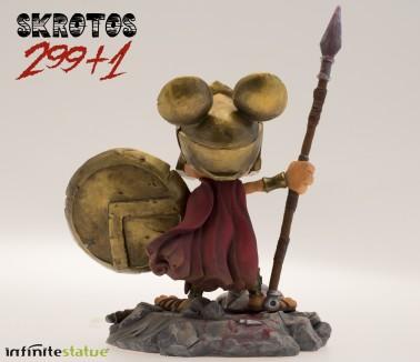 Rat-Man Infinite Collection | The statue ofSkrotos da 299+1 -2