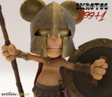 Rat-Man Infinite Collection | The statue ofSkrotos da 299+1 -4