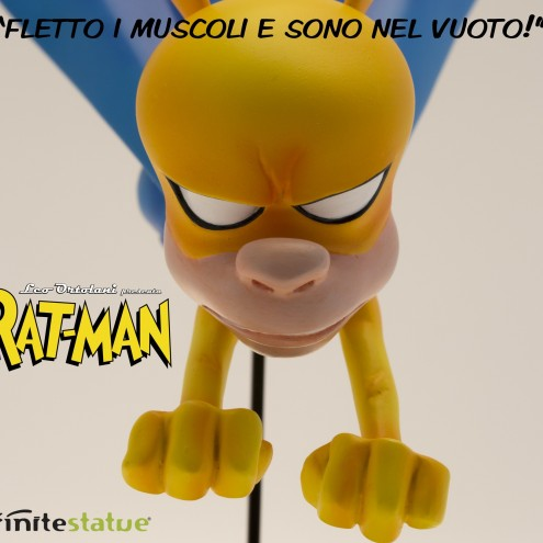 Rat-Man Infinite Collection statua da collezione - 1