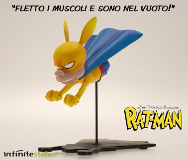 Rat-Man Infinite Collection statua da collezione - 3