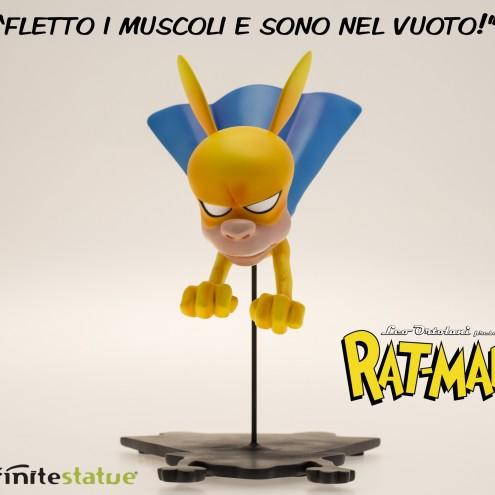 Rat-Man Infinite Collection statua da collezione - 6
