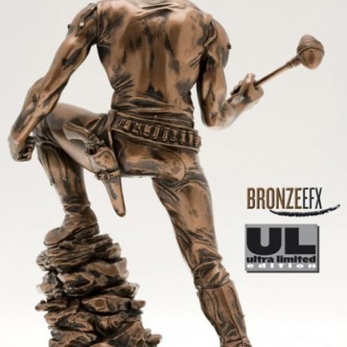"""Zagor ULZagor statua """"effetto bronzo"""" - 2"""