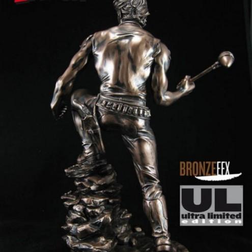 """Zagor ULZagor statua """"effetto bronzo"""" - 5"""