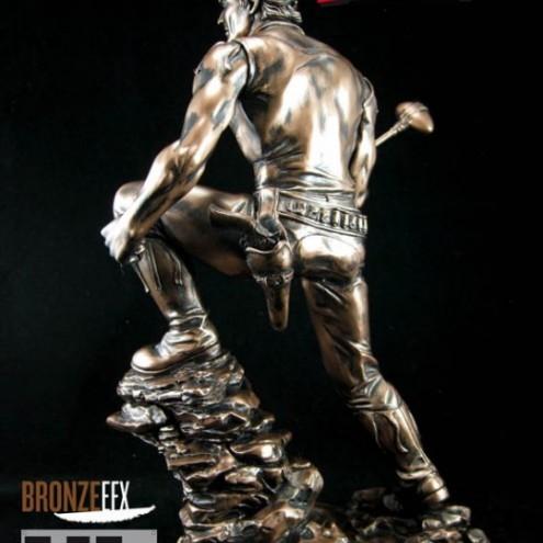 """Zagor ULZagor statua """"effetto bronzo"""" - 6"""