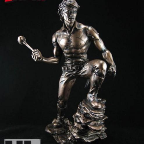 """Zagor ULZagor statua """"effetto bronzo"""" - 7"""