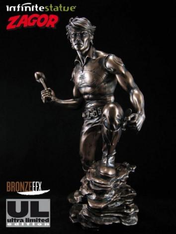 """Zagor ULZagor statua """"effetto bronzo"""" - 8"""