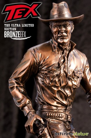 """Statua da collezione di Tex colorazione in """"Bronze EFX"""" - 1"""