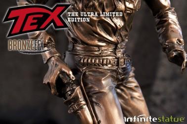 """Statua da collezione di Tex colorazione in """"Bronze EFX"""" - 3"""