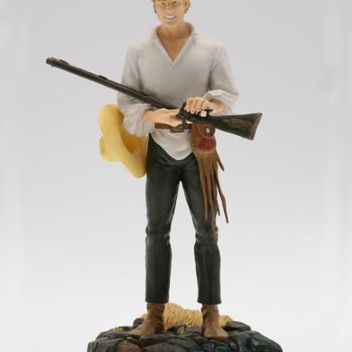 Statua 3D in formato 1:6 di Ken Parker - 1