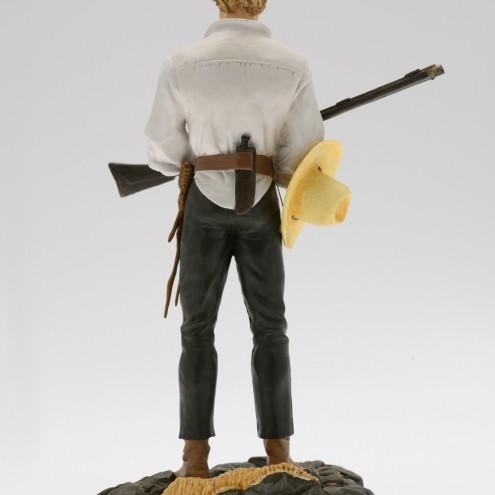 Statua 3D in formato 1:6 di Ken Parker - 2