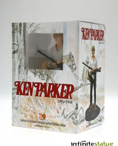 Statua 3D in formato 1:6 di Ken Parker - 7