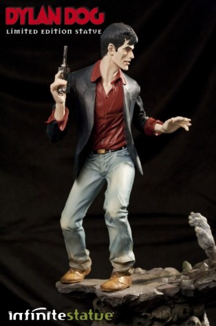 Statua in formato 1:6 Edizione Limitata del grande Dylan Dog - 3