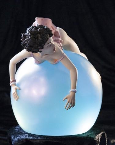 Little EGO| Bubble Dreamstatuadipinta e rifinita a mano -4