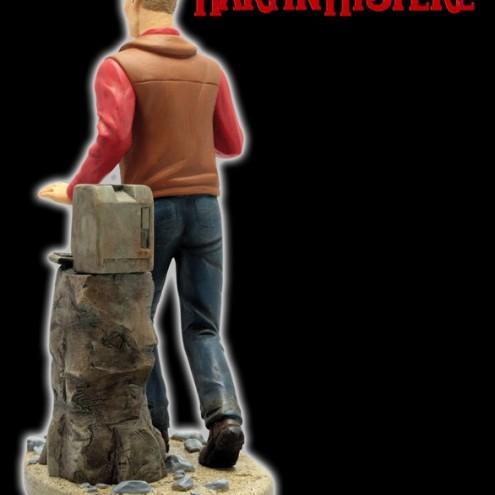 Statua di Martin Mystère in 3D dipinta a mano e numerata - 3