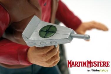Statua di Martin Mystère in 3D dipinta a mano e numerata - 4