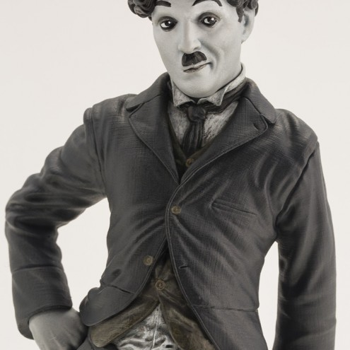 Statua del personaggio del Vagabondo di Charlie Chaplin - 1