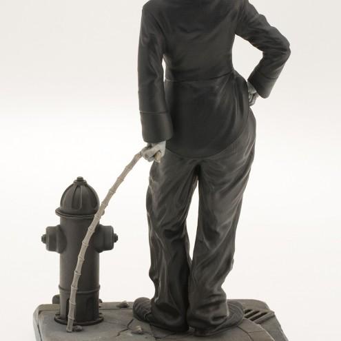 Statua del personaggio del Vagabondo di Charlie Chaplin - 4