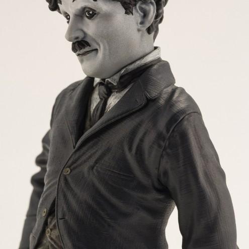Statua del personaggio del Vagabondo di Charlie Chaplin - 7