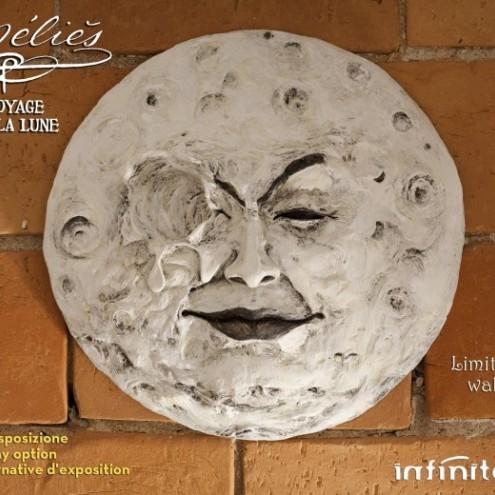 La luna di Mélièsscultura rifinita e dipinta a mano - 4