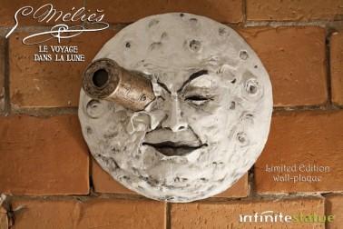 La luna di Mélièsscultura rifinita e dipinta a mano - 5