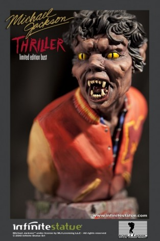 The statue ofMichael Jackson's Thriller - 1