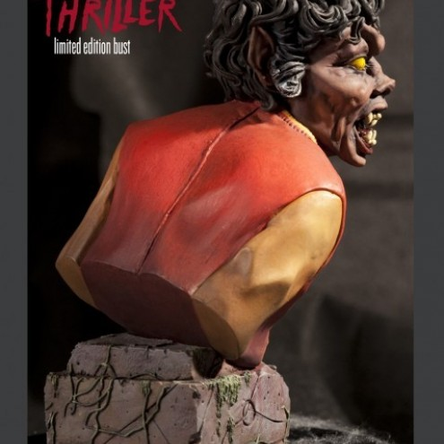 The statue ofMichael Jackson's Thriller -2