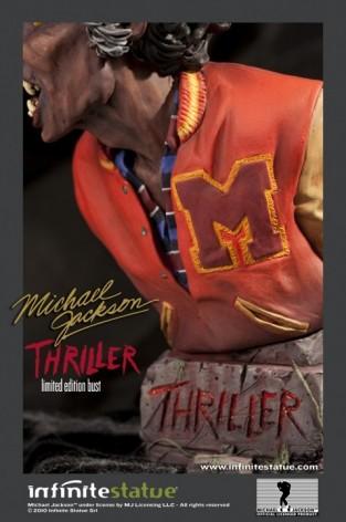 The statue ofMichael Jackson's Thriller -3