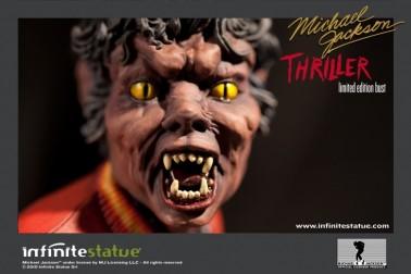 The statue ofMichael Jackson's Thriller -7
