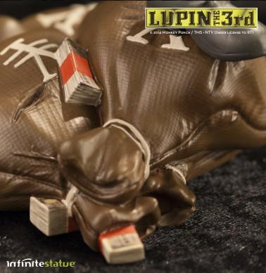 Statua Edizione Limitata Lupin III in resina dipinta a mano - 4