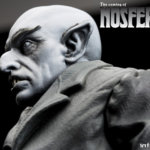 The coming of Nosferatustatua in formato 1:4 con diorama -2