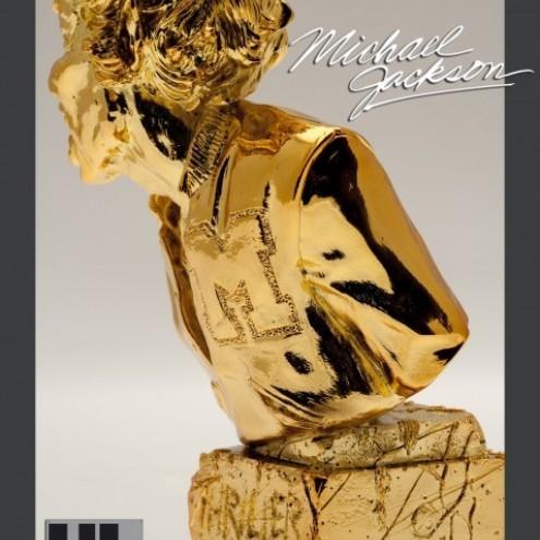Michael Jackson's Thriller ULstatua dipinta a mano -3