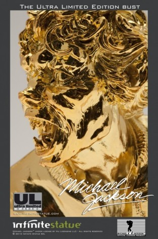 Michael Jackson's Thriller ULstatua dipinta a mano -4