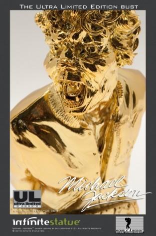 Michael Jackson's Thriller ULstatua dipinta a mano -5