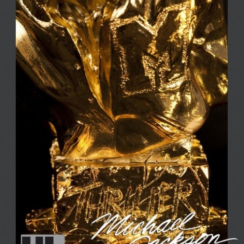 Michael Jackson's Thriller ULstatua dipinta a mano -7