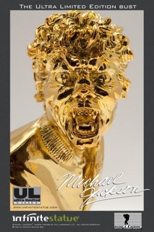 Michael Jackson's Thriller ULstatua dipinta a mano -8