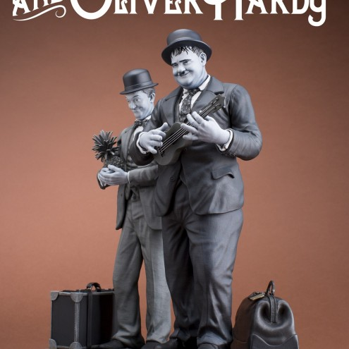 La statua di Stan Laurel & Oliver Hardy - 1
