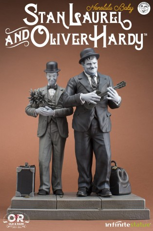 La statua di Stan Laurel & Oliver Hardy - 2