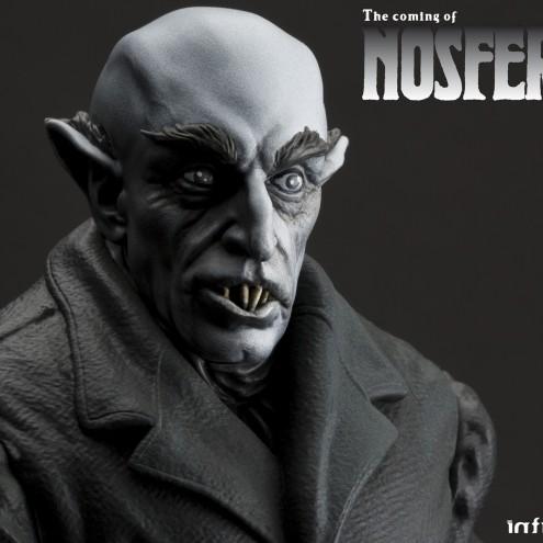 The coming of Nosferatustatua in formato 1:4 con diorama -3