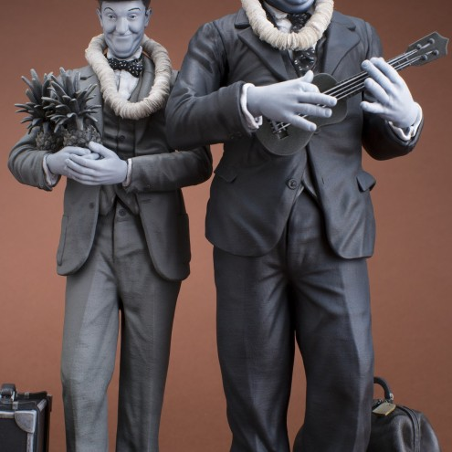 La statua di Stan Laurel & Oliver Hardy - 6