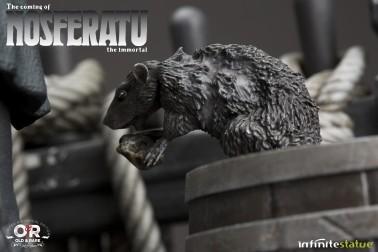 The coming of Nosferatustatua in formato 1:4 con diorama - 4