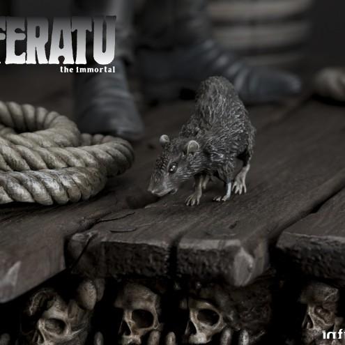 The coming of Nosferatustatua in formato 1:4 con diorama - 5