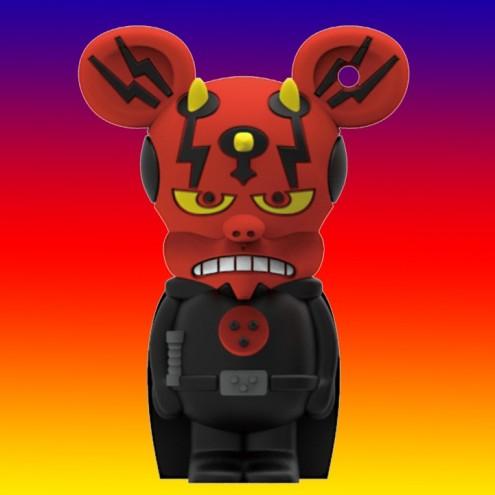 Dark Mouse USB flash drive 8GB Rat-Man - 1