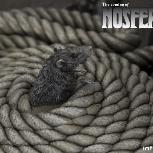 The coming of Nosferatustatua in formato 1:4 con diorama - 7