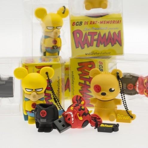 Chiavetta USB del personaggio di Piccettino di Rat-Man - 2