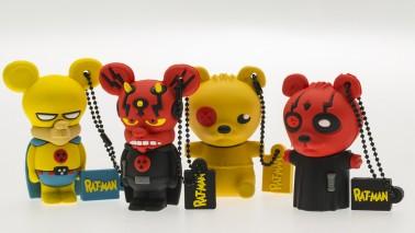 Chiavetta USB del personaggio di Piccettino di Rat-Man - 3