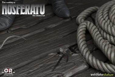 The coming of Nosferatustatua in formato 1:4 con diorama - 10