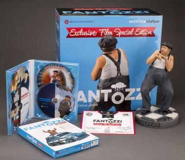 Cofanetto con la statua di Fantozzi e 4 DVD dei suoi film - 3