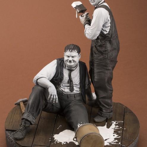 "Statua di Laurel & Hardy ""Another nice mess"" - 2"