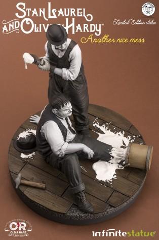 "Statua di Laurel & Hardy ""Another nice mess"" - 4"