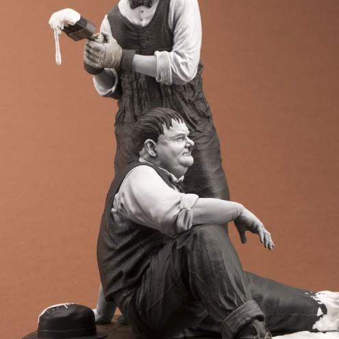 "Statua di Laurel & Hardy ""Another nice mess"" - 8"
